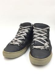 ハイカットスニーカー/43/341760/ブラック/黒/レザー