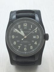 自動巻腕時計/アナログ/レザー/H706850