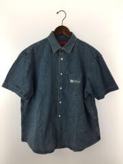 20SS/Invert Denim S/S Shirt/半袖シャツ/M/コットン/IDG