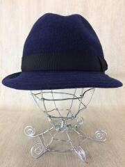 ハット/帽子/59cm/ウール/NVY/B9896-09A00