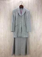 スーツ/セットアップ/34/ウール/GRY