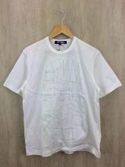 ステッチ/Tシャツ/M/コットン/WHT/WE-T015/AD2019
