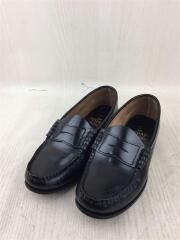 ローファー/革靴/24.5cm/BLK/レザー