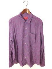 19SS/Vines Rayon Shirt/オープンカラーシャツ/長袖シャツ/L/コットン/PUP/総柄