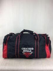 CHICAGO BULLS/シカゴブルズ/ボストンバッグ/ブラック