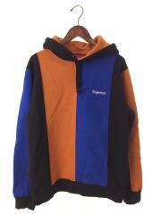 18AW/Tricolor Hooded Sweatshirt/パーカー/M/コットン/マルチカラー
