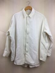 19AW/コーデュロイシャツ/長袖シャツ/36/コーデュロイ/WHT/192-SH08-035