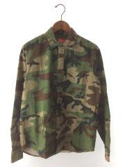 16AW/Woodland Shirt/ウッドランドシャツ/長袖シャツ/S/コットン/カモフラ