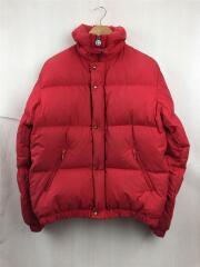 ski wear MONCLER/ダウンジャケット/サイズ170/ポリエステル/RED/アシックス社