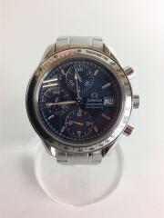 自動巻腕時計/アナログ/BLU/3511.80/オメガ スピードマスター トリプルカレンダー