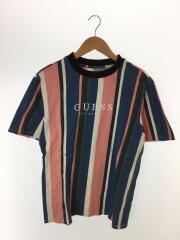 Tシャツ/XS/コットン/マルチカラー/ロゴTシャツ/刺繍ロゴ