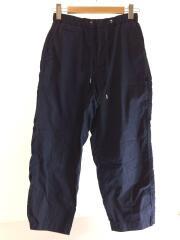 Ripstop Shirred Waist Pants/ストレートパンツ/S/コットン/NVY/NP5900N