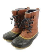 ブーツ/25cm/CML/レザー/NM1340-629