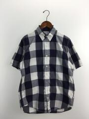 ネルシャツ/XL/ポリエステル/NVY/チェック/NT20037H/ブロックチェック