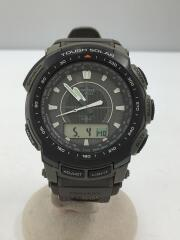 PRO TREK/ソーラー腕時計/デジアナ/GRY/KHK/PRW-5100B/電波 プロトレック