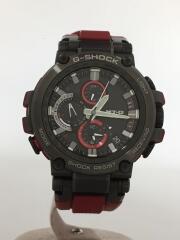 ソーラー腕時計・G-SHOCK/アナログ/BLK/RED