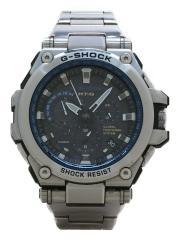 ソーラー腕時計・G-SHOCK/アナログ/SLV/電波 G-SHOCK ジーショック MT-G MTG-G1000D/