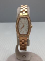 クォーツ腕時計/アナログ/ステンレス/GLD/WF8B026BPS