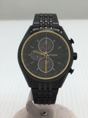 CA0457-82E/ソーラー腕時計/アナログ/ステンレス/BLK/BLK/シチズンコレクション