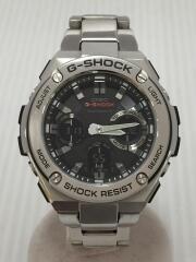 ソーラー腕時計・G-SHOCK/デジアナ/ステンレス/SLV/SLV/電波 G-STEEL  GST-W110D-1AJF