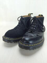 別注/Church Lace Low Boot/ブーツ/US7/ブラック/マーチン/ガーメンツ