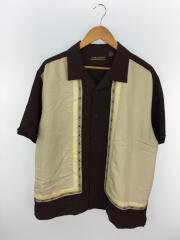 CUBAVERA/オープンカラーシャツ/半袖シャツ/XL/レーヨン