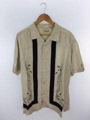半袖シャツ/XL/リネン