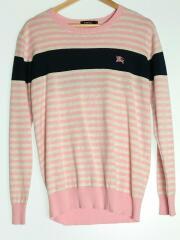 セーター(薄手)/2/コットン/PNK/D1N04-703-12