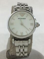 クォーツ腕時計/ウォッチ/アナログ/ホワイト/シルバー/マザーオブパール/AR1763