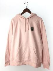 パーカー/×LACOSTE/Hooded Sweatshirt/M/コットン/PNK