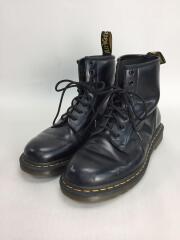 ブーツ/US9/BLK/8ホール