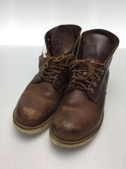 ブーツ/27cm/BROWN/ブラウン/レザー/9111