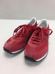ローカットスニーカー/24.5cm/RED