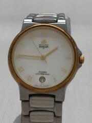 Avalon/クォーツ腕時計/アナログ/ステンレス/WHITE/SLV/4710-470192