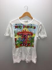 Tシャツ/M/コットン/WHITE/プリント