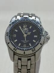 クォーツ腕時計/アナログ/BLUE/SILVER/SGE650