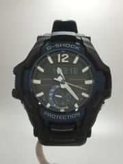 ソーラー腕時計・G-SHOCK/デジアナ/ラバー/BLK/ブラック/Bluetooth GRAVITYMASTER グラビティマスター  GR-B100-1A2JF