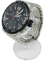 クォーツ腕時計/アナログ/ステンレス/BLK/SLV/CAU1110/クロノグラフ ダイバーズ FORMULA1 フォーミュラ1
