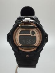 クォーツ腕時計・Baby-G/デジタル/BLACK