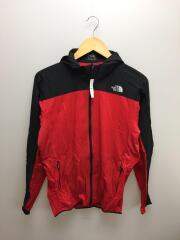 WALLOWTAIL VENT HOODIE/ナイロンジャケット/RED/NP71773