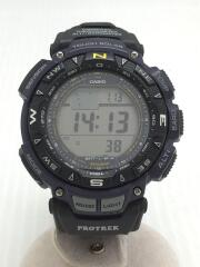 PRO TREK/ソーラー腕時計/デジタル/PRG-240