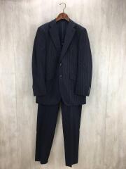 スーツ/2B/40/ウール/NVY/ピンストライプ