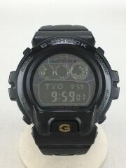 G-SHOCK/付属品無し/ソーラー腕時計/デジタル/ステンレス/BLK/BLK