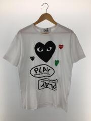Tシャツ/XL/コットン/WHT/プリント