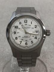 H70445/自動巻腕時計/アナログ/ステンレス/WHT/SLV