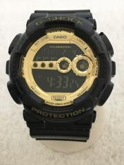 GD-100GB-1JF/G-SHOCK/デジタル/ラバー/BLK/BLK