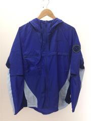 トレーニングジャケット/ナイロンジャケット/M/ナイロン/ブルー/CU5000-430