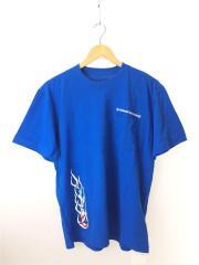 ×MATTY BOY/PPO SPACE T-SHRT/タグ付/Tシャツ/L/コットン/ブルー