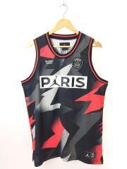 AIR JORDAN/PARIS SAINT-GERMAIN PSG/タンクトップ/L/ブラック/ポリエステル