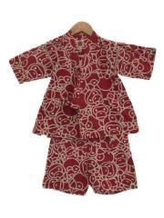 半袖シャツ/100cm/コットン/RED